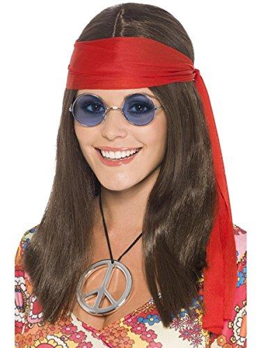 Fancy Dress Hippy Chick Kit (perruque)