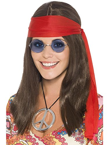 Fancy Dress Hippy Chick Kit (perruque)