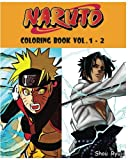 NARUTO : Coloring Book : Series (Vol.1 - 2): adult coloring book