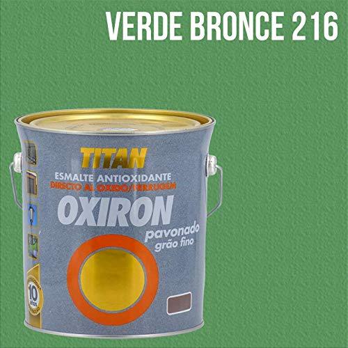 Titan Oxiron Pavonado 4L - 4 L, 216 Verde Bronce