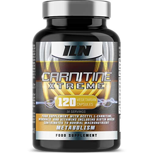 Acetyl L Carnitine Carnitine Xtreme 2000mg Acetyl L Carnitine x 30 Servings with Chromium which contributes to normal macronutrient metabolism 120 Vegetarian Capsules