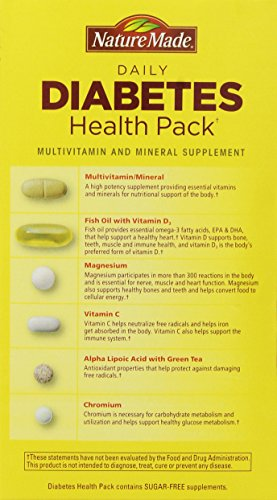 Nature Made Diabetes Health Pack, 60 Packets