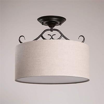 TopDeng LED 5W Paños de Lámpara de techo,Montaje semi flush Araña Dormitorio Sala de