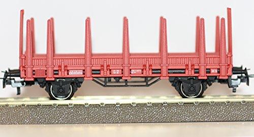 Märklin H0 Rungenwagen aus Feuerwehr-Startpackung 29752 Basis 4459 Neu Ohne OVP