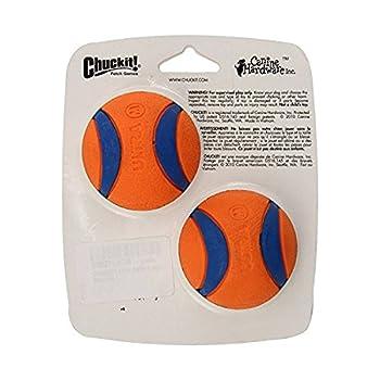 Chuckit. Ultra Balls jouet pour chien Balles–Pour abschuss Appareil; Taille M normale, Lot de 2