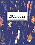 Pretty Simple Planners Weekly and Monthly Planner and Organizer: Calendar Schedule + Agenda | Inspirational Quotes | Floral Mint Cover (2021-2022 Academic Planner)