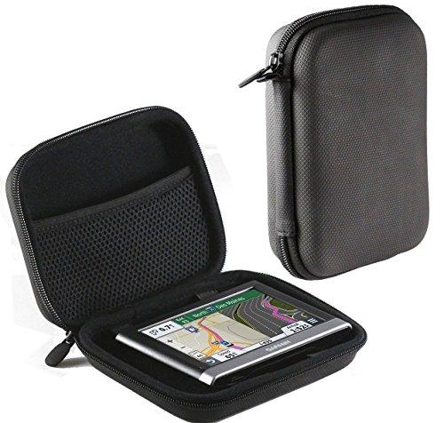 Navitech Schwarz Anti Blendbilschirm Case Cover Hülle für das Tomtom Start 50 CE ALDI