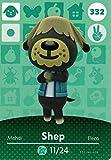 Nintendo Animal Crossing Happy Home Designer Amiibo Card Shep 332/400 USA Version