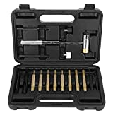 17Pcs Punch Set Punzoni meccanici in ottone Installazione Punzoni tondi Manutenzione Kit di punzonatura tecnica con scatola