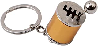 Manual Stick Shift Lever Gear Box Keyring Keychain Ring Novelty Creative Auto Multi-Colors