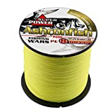 Best Braided Fishing Lines - Ashconfish Braided Fishing Line-8 Strands Super Strong PE Review
