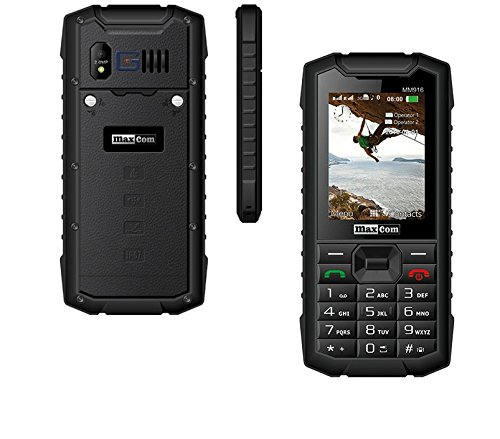 ²-DUAL SIM 3G/UMTS/HSDPA/TETHERING/PANZERGLASFOLIE -Outdoor- Handy-Rugged-/Taschenlampe/von G-TELWARE® IP67 in DEUTSCH!