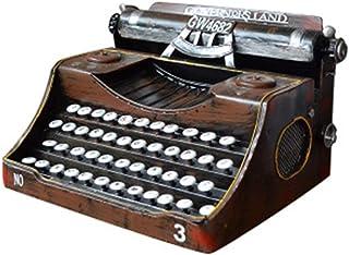 2 St/ück Harz Schreibmaschine Figur 2,1  Mini Schreibmaschine Modell Desktop Oranment f/ür Home Bar Shop Dekoration