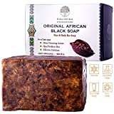 Original Detoxifying African Black Soap – For All Skin Types, Face & Body