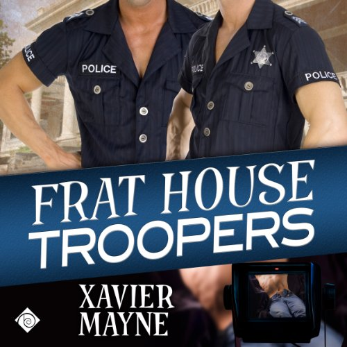 Frat House Troopers audiobook cover art