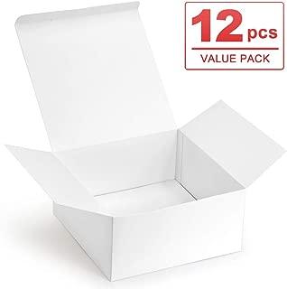 ValBox Premium Gift Boxes 12 Pack 8 x 8 x 4