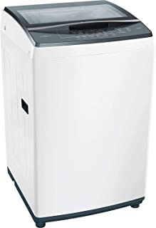 Bosch 7 kg Fully Automatic Top Loading Washing Machine (WOE704W1IN, White)