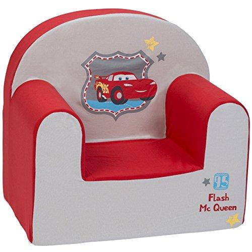 BabyCalin DIS550715 Sessel, Disney Cars Flash MC Königin, Mehrfarbig, 1 Stück