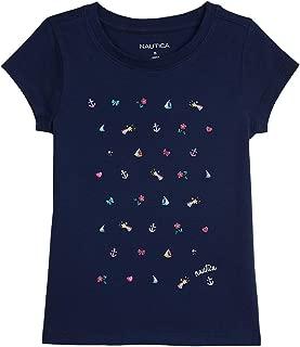 Nautica Womens Short Sleeve Holiday Graphic T Shirts Short Sleeve T-Shirt