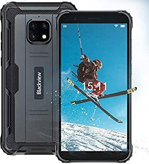 Unlocked Rugged Cell Phone   2021   3-Day Battery   Unlocked   Made for US by Blackview   4/64GB   13MP Camera (Black)