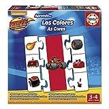 Blaze - Los Colores, juego educativo (Educa Borrás 16993) , color, modelo surtido
