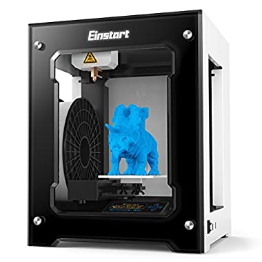 Shining 3D Einstart S Desktop 3D Printer (Metal Framework, 160mm Build Size, 0.15 mm Accuracy, 24 cm3/h Speed) (Black)