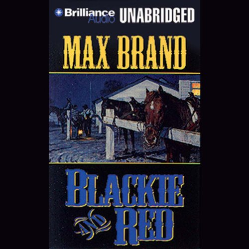 Blackie and Red audiobook cover art