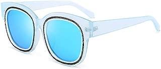 Unisex Sunglasses Fashion Rope Decoration Polarized Too Glasses (Color : E)