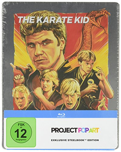 Karate Kid - SteelBook PopArt [Blu-ray]