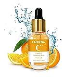 Vitamin C Serum, LANBENA Moisturizing Serum with Hyaluronic Acid, Niacinamide, Retinol - Natural Anti Aging, Moisturizing, Anti-oxidation 1.37 Fl. oz