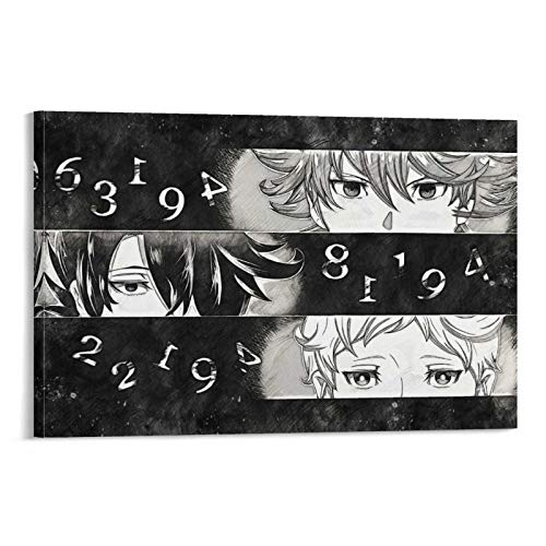 The Promised Neverland Poster Decorative Painting Canvas Wall Art Living Room Posters Bedroom Painting 08×12inch(20×30cm)