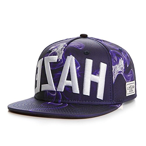 Cayler And Sons - Casquette Snapback Homme EZAH Cap - Purple Smoke/Black/White