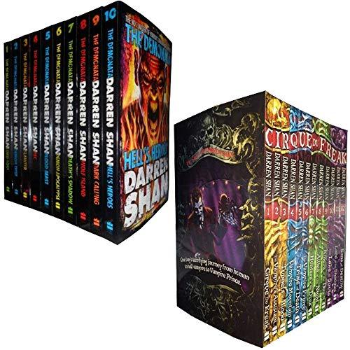 Cirque Du Freak Series & Demonata Series 22 Books Set By Darren Shan