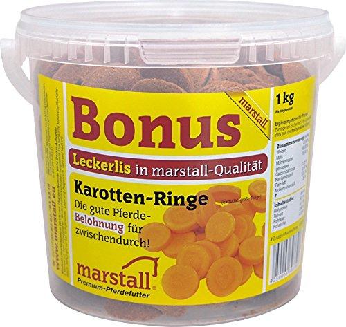 marstall Premium-Pferdefutter Bonus Karotte, 1er Pack (1 x 1 kilograms)