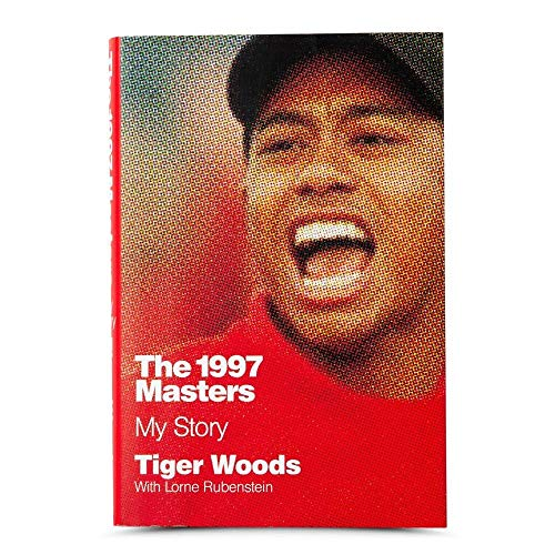 "Tiger Woods Autographed Book ""1997 Masters: My Story"" - Upper Deck - Golf Autographed Miscellaneous Items"