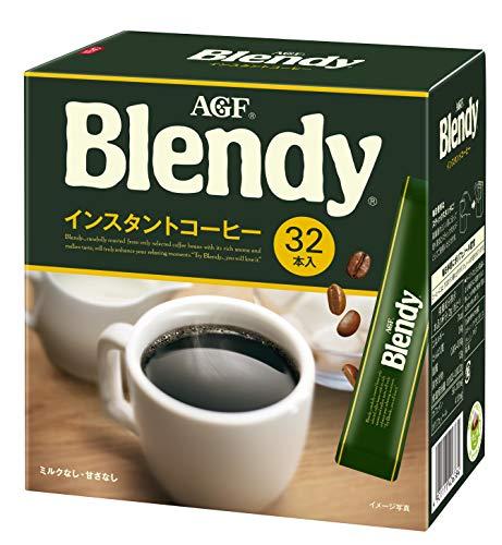 AGF ブレンディ パーソナルインスタントコーヒー 【 スティックコーヒー 】【 水に溶けるコーヒー 】【 イ...