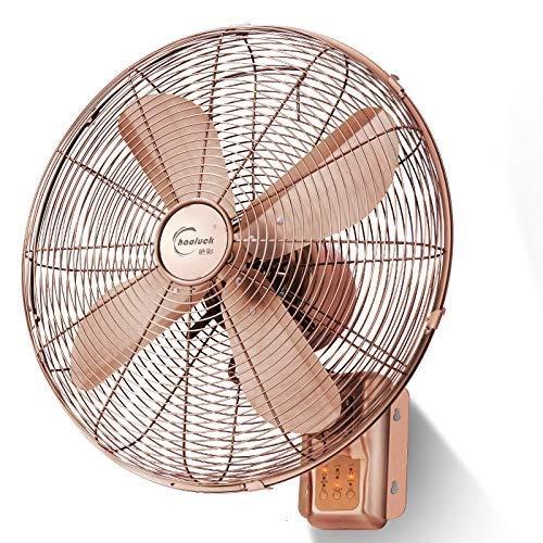 MAMINGBO Ventilador Industrial Antiguo montado en la Pared, operación silenciosa, con Control Remoto, Ventilador de Aire oscilante de ángulo Amplio y oscilante for el Home Office Gym Warehouse