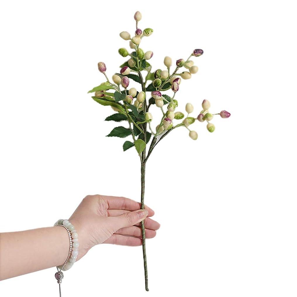 飛行機オートコテージベリーオリーブの実造花 アートフラワー インテリア造花 お祝い 飾り 結婚式 多色選択 室内インテリア 枯れない花 お部屋にアレンジ-goupgolboll