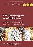 DB Risikokapitalgeber Verzeichnis - 2019 - 2: DB Venture Capitalist Directory DB Annuaire du capital de risque