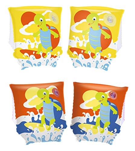 Bestway Turtle Armbands Swim Aid - Multicoloured