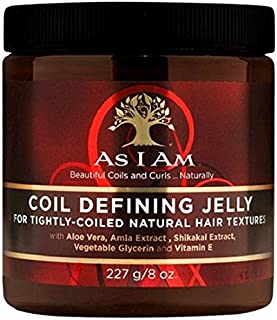 As I Am Naturally Coil Defining Jelly, 8 Ounce