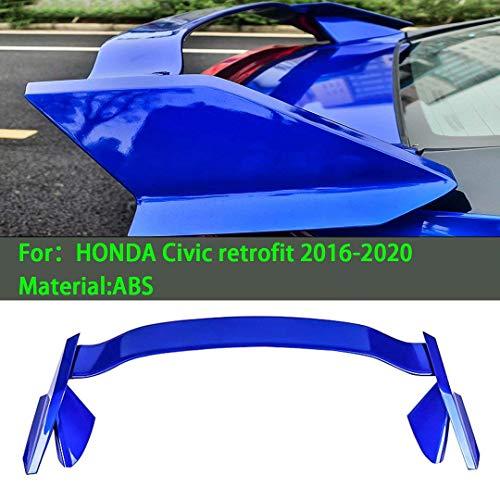 Geeignet für Honda Civic Nachrüstung Auto Heckspoiler 2016-2020 Auto Querruder Kofferraum Starrflügellippe