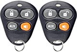 KeylessOption Keyless Entry Remote Starter Car Key Fob Alarm For Aftermarket Viper Automate EZSDEI474V 474V (Pack of 2)