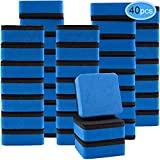 Best Whiteboard Erasers - EAONE 40 Pack Magnetic Whiteboard Dry Eraser Chalkboard Review