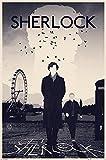 Pyramid International Sherlock Set de 5 Psteres London 61 x 91 cm (5)