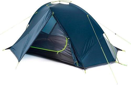 CHEXIAO Tente Extérieure, Crème Solaire Anti-Pluie pour Tente De Camping Sauvage Ultra-légère pour 1 Personne