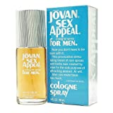 Jovan Sex Appeal for Men, Cologne Spray 3 fl oz