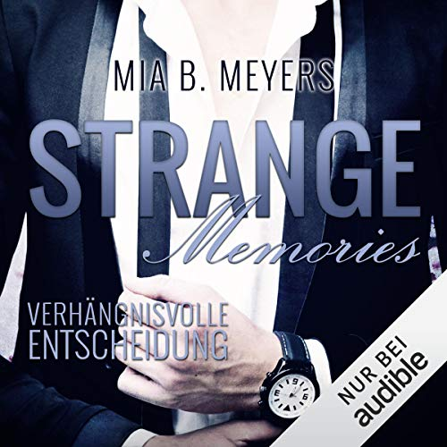 Strange Memories audiobook cover art