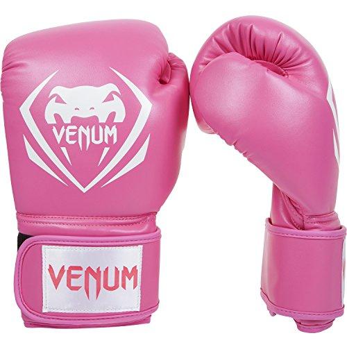 Venum Contender - Guantes de boxeo, color Rosa, talla 8 oz