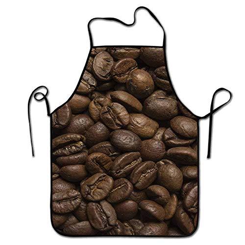 Not Applicable Kaffeeschürze ohne Taschen Aromatisierte geröstete Arabica-Bohnen Bereit zum Brauen Frisches Getränk Mokka für Robustes Frühstück Schürzengrill, Grill, Farbe Braun